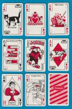 Collectible advertising  playing cards and cards game Unigate milk,